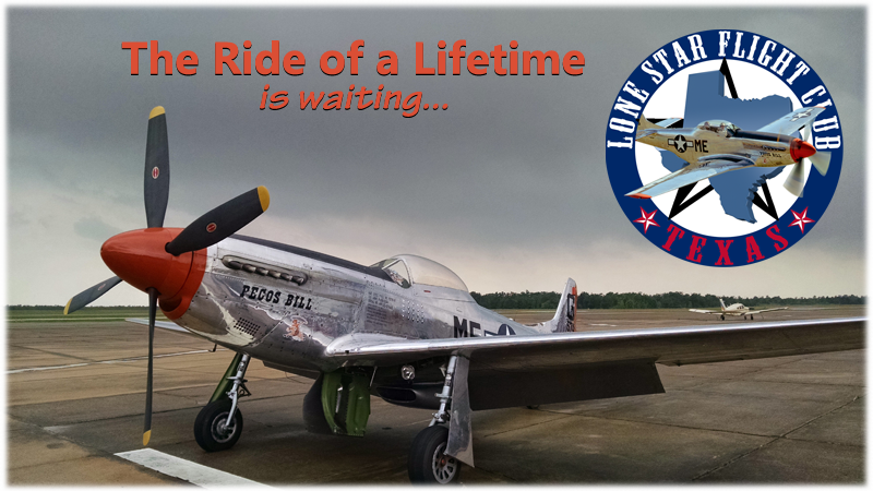 Freedom Flyers' PECOS BILL P-51